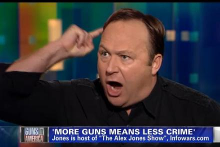 In case you were wondering, Alex Jones is exactly the kind of person I'm talking about. We don't need a screaming match, we need a rational discussion.